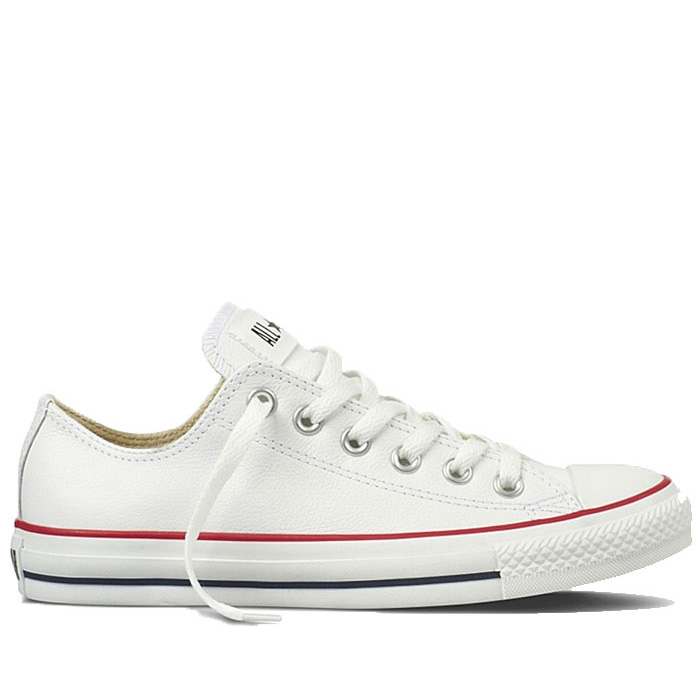 ... Chuck Taylor All Star Leather Ox White. Распродажа! Converse -132173-Optic-White-Leather 8196 3 4db07796facda